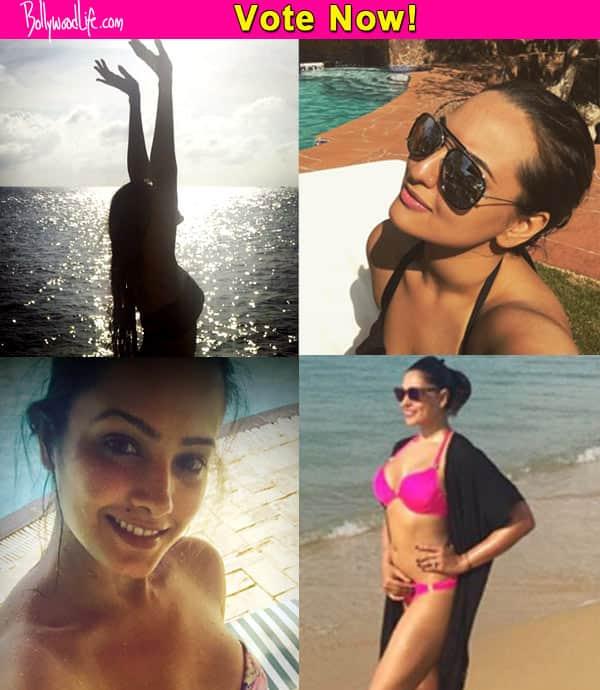 Sonakshi Sinha, Bipasha Basu, Anita Hassanandani or Sonam Kapoor: Who looks the hottest in a bikini?