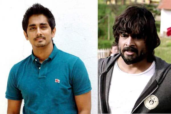 Why does Siddharth want R Madhavan to leave Chennai?