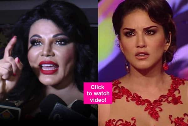 Did Rakhi Sawant just call Sunny Leone a WHORE? Watch video!