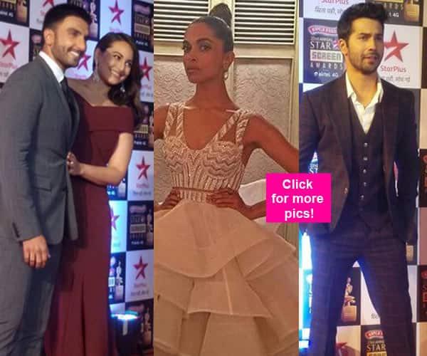 Star Screen Awards 2016: Ranveer Singh, Deepika Padukone, Varun Dhawan dazzle at the star studded function