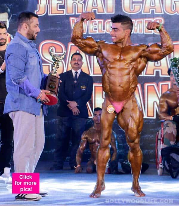 Salman Khan meets his toughest competition in bodybuilding –view pics!