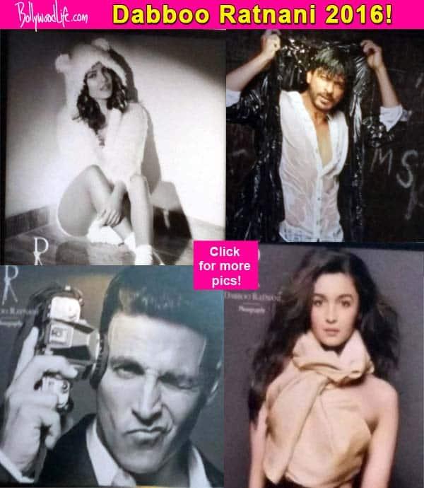 Check out these SIZZLING pictures of Shah Rukh Khan, Hrithik Roshan, Priyanka Chopra, Alia Bhatt in Dabboo Ratnani's 2016 calendar!