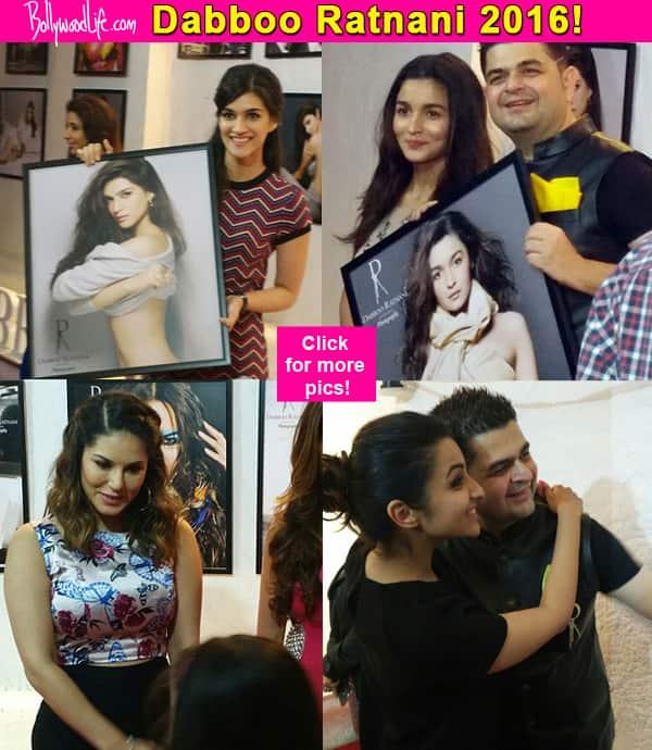Sunny Leone, Shraddha Kapoor, Alia Bhatt, Parineeti Chopra, Kriti Sanon make Dabboo Ratnani's 2016 calendar launch GLAMOROUS!