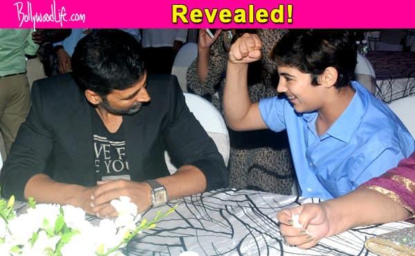 Akshay Kumar's son Aarav doesn't consider him an actor?