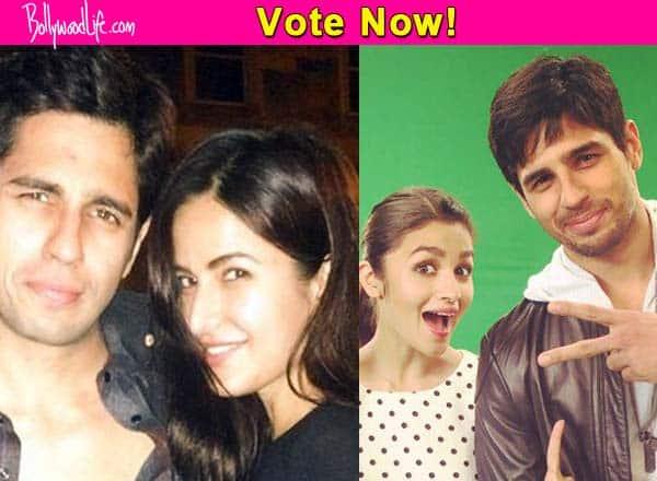 Katrina Kaif or Alia Bhatt – who looks best with Sidharth Malhotra? Vote!