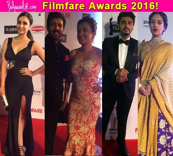 Filmfare Awards 2016 red carpet: Arjun Kapoor, Parineeti
