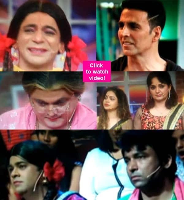 This leaked video of the last episode of Comedy Nights With Kapil, also featuring Akshay Kumar, will leave you TEARY EYED!