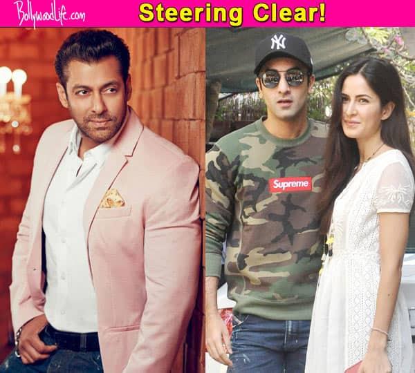 Salman Khan wants to have NOTHING to do with the Ranbir Kapoor – Katrina Kaif break-up!