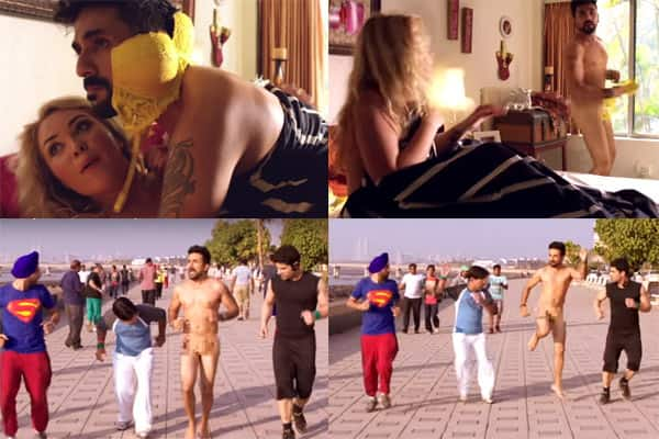 Vir Das goes FULL MONTY in this new Mastizaade promo!