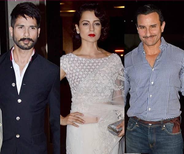 Shahid Kapoor, Kangana Ranaut and Saif Ali Khan's Rangoon to release on September 30!