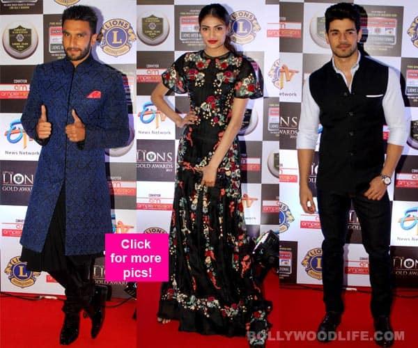Ranveer Singh, Sooraj Pancholi, Athiya Shetty, Rithvik Dhanjani, Asha Negi SPICE UP Lions Gold Awards 2016 – view HQ pics!