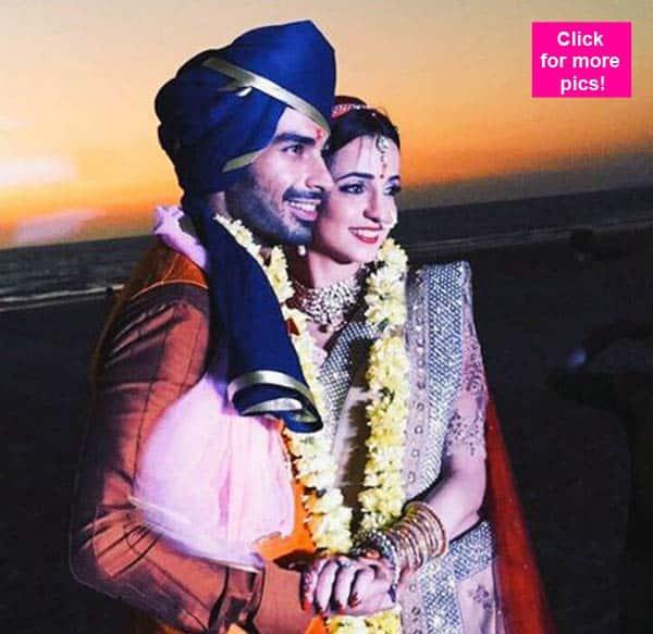 Sanaya Irani and Mohit Sehgal wedding: Drashti Dhami, Arjun Bijlani, Barun Sobti and Riddhi Dogra cheer the newly-weds – view pics!