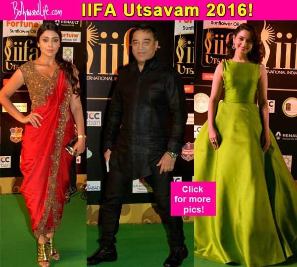 IIFA Utsavam Awards: Kamal Hassan, R Madhavan, Shriya Saran, Tamannaah Bhatia dazzle at the red carpet!