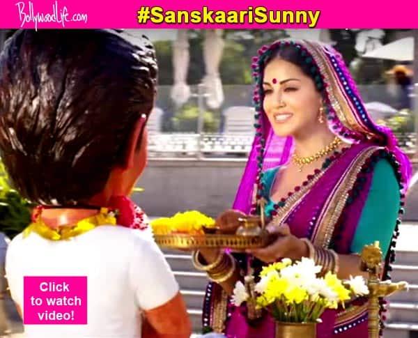 Sunny Leone's sanskaari avatar in Mastizaade will give Alok Nath sleepless nights –watch video!