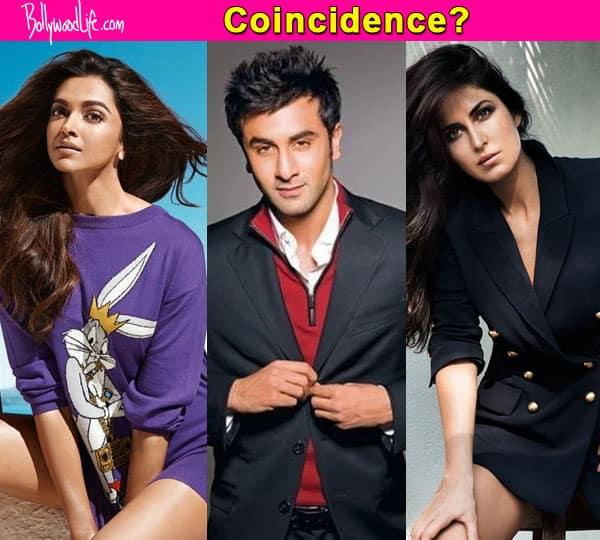 Katrina Kaif, Deepika Padukone, Ranbir Kapoor have landed in Delhi at once!