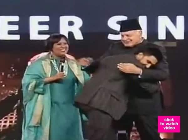 Ranveer Singh makes Dr Farooq Abdullah groove to the tunes of Malhari – watch video!