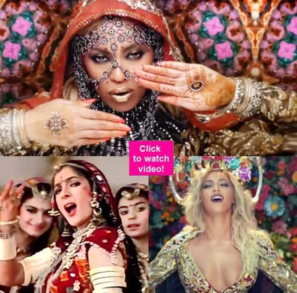 Beyonce dancing to Madhuri Dixit's Choli Ke Piche Kya Hai is nothing less thanEPIC!