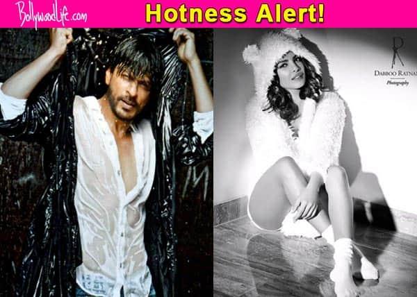 Shah Rukh Khan and Priyanka Chopra declared as the HOTTEST celebs on Dabboo Ratnani's Calendar 2016!