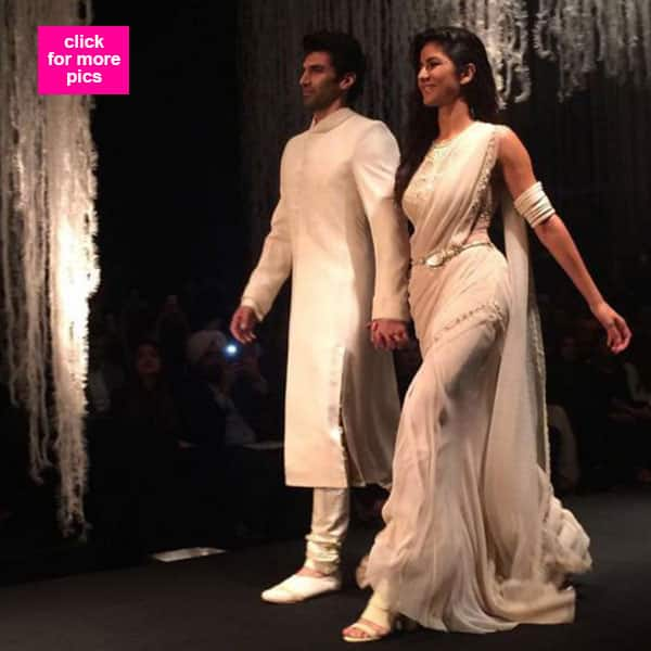 Katrina Kaif and Aditya Roy Kapur turned showstoppers for Tarun Tahiliani and they've totally BLOWN us away!