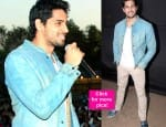 Sidharth Malhotra is in a blue mood – view pics!