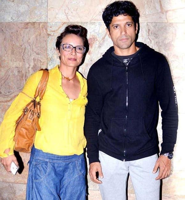Even post separation, Adhuna helps Farhan Akhtar!