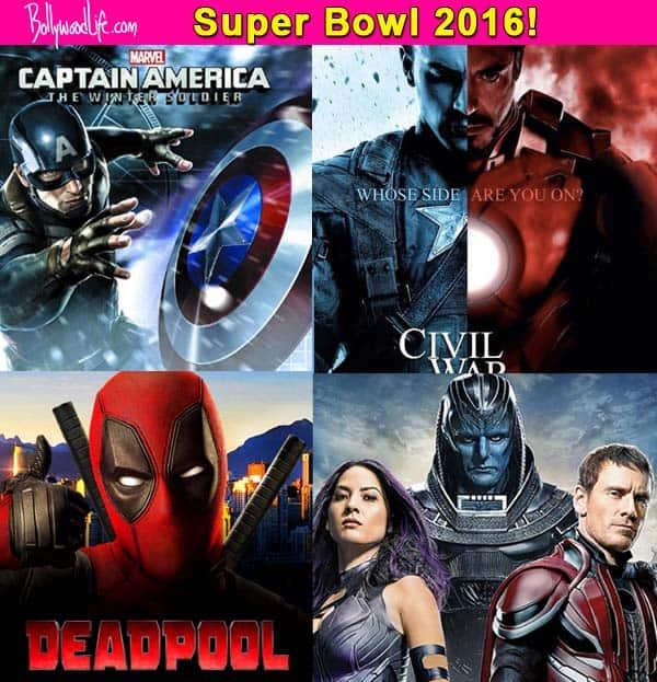 Captain America: Civil War, Deadpool, X-Men: Apocalypse –  5 SUPERB trailers which Super Bowl 2016 treated the movie buff!