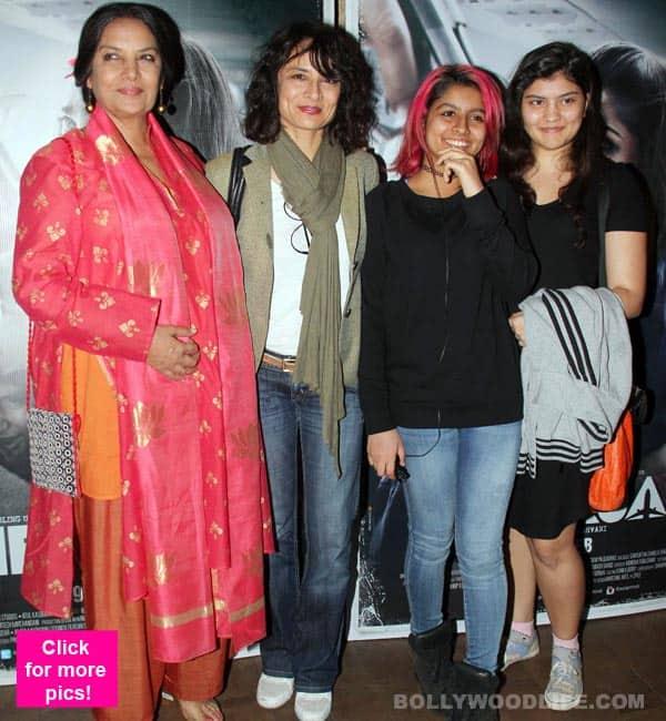All is definitely well between Shabana Azmi and son Farhan Akhtar's ex-wife Adhuna Bhabani – view HQ pics!