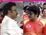 CCL 2016 Final: Nagarjuna and Venkatesh's Telugu Warriors thrash Sudeep's Karnataka Bulldozers horribly!