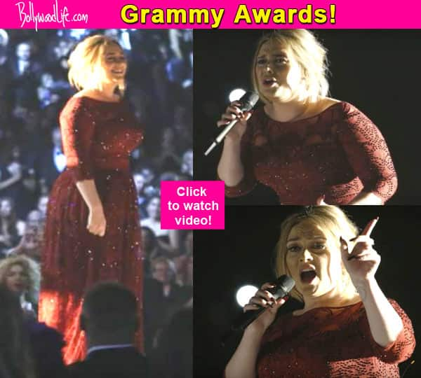 Grammy Awards 2016: Adele's magical performance on All I Ask is a TREAT to the ears – watch video!