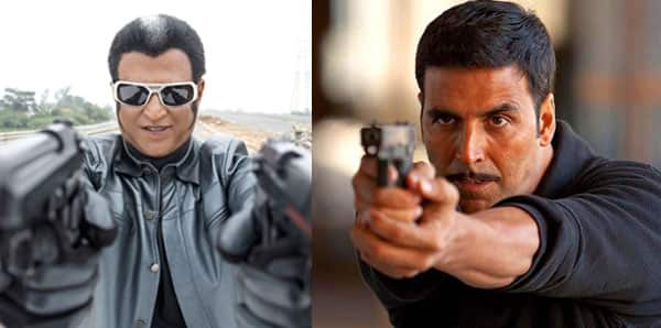 Ranjinikanth and Akshay Kumar's fight scene in Robot 2 is worth Rs 20 crore!