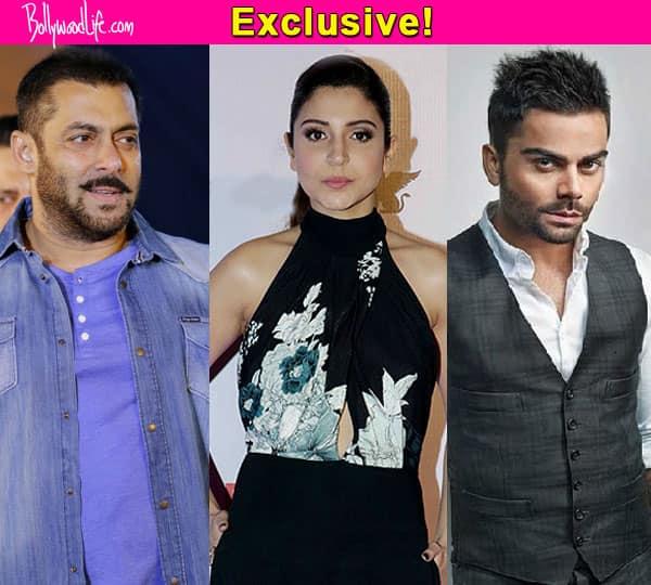 Salman Khan is staying OUT of Anushka Sharma and Virat Kohli's break up drama!