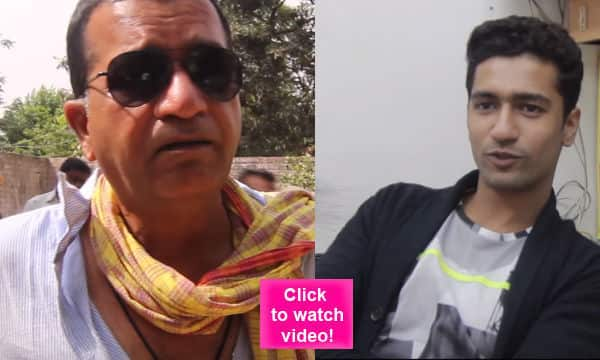 Zubaan actor Vicky Kaushal made to fall off stairs by his father action director Shyam Kaushal – watch video!