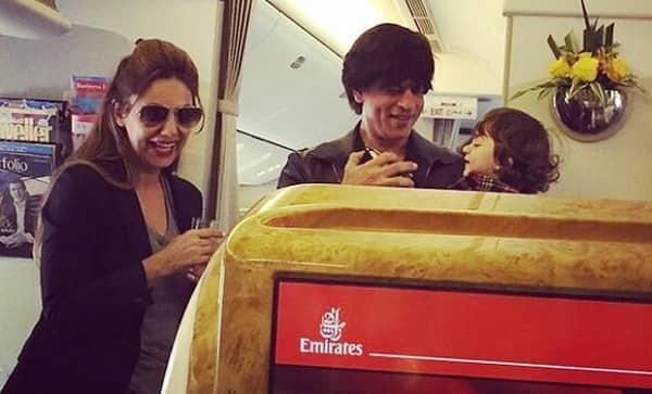 Shah Rukh Khan's wife Gauri Khan feels AbRam is more pampered than Aryan and Suhana!
