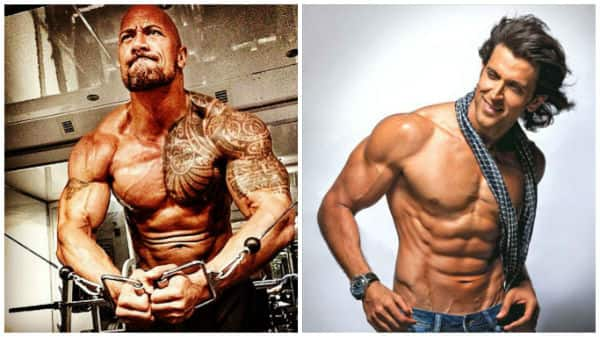 Whoa! Hrithik Roshan follows the same diet as Baywatch's Dwayne Johnson!