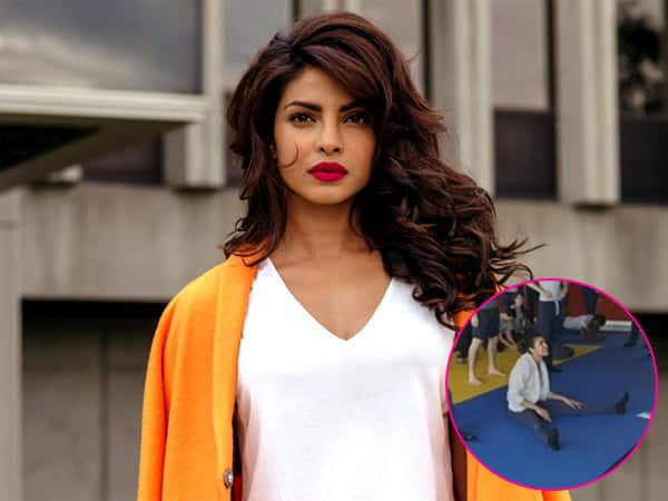 Priyanka Chopra hits the gym with team Quantico – view pics!