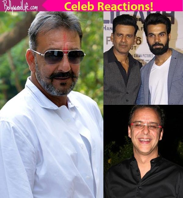 Manoj Bajpayee, Rajkummar Rao, Vidhu Vinod Chopra ECSTATIC over Sanjay Dutt's release!