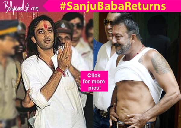 Sanjay Dutt jail timeline: Here's a look at the actor's tryst with law in pics from 1993 to 2016!