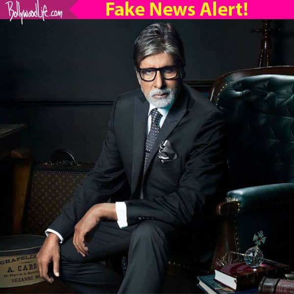 Amitabh Bachchan dead! SHOCKING rumours about the actor spreading like wild fire on Whatsapp