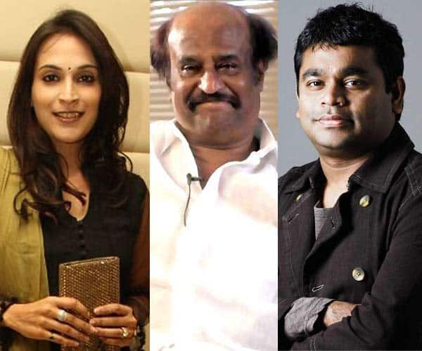 Rajinikanth, Aishwarya Dhanush and AR Rahman come together for a cause!