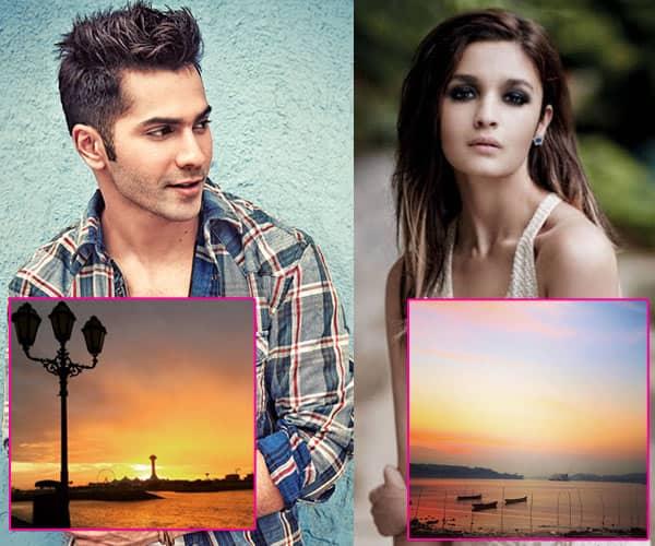 Same Pinch! Varun Dhawan and Alia Bhatt post SIMILAR Insta pics!