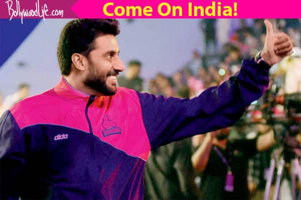 India vs Pakistan: WATCH how Abhishek Bachchan is cheering for our country ahead of the match!