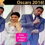 Oscars 2016: Priyanka Chopra turns a SEXY teacher on the red carpet – watch video!