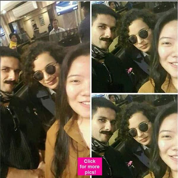 Shahid Kapoor and Kangana Ranaut's Rangoon lands them in Arunachal Pradesh – view pics!