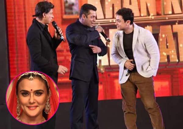 Salman Khan, Shah Rukh Khan and Aamir Khan to attend Preity Zinta's grand wedding reception?