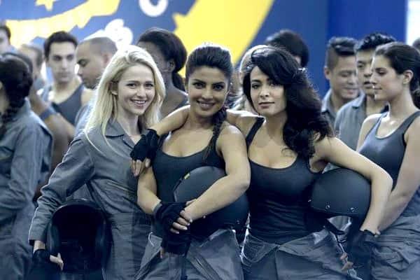 Priyanka Chopra and a cast member's pic from Quantico episode no 14