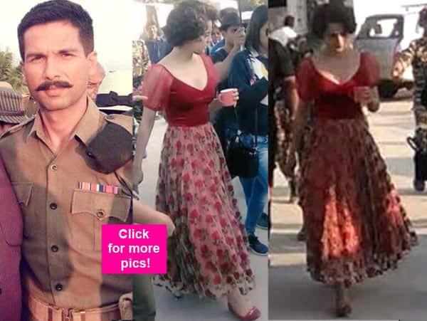 Shahid Kapoor and Kangana Ranaut's Rangoon look will drive you CRAZY – view pics!