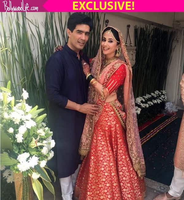 Urmila Matondkar's wedding outfit was made in 5 days, reveals Manish Malhotra!