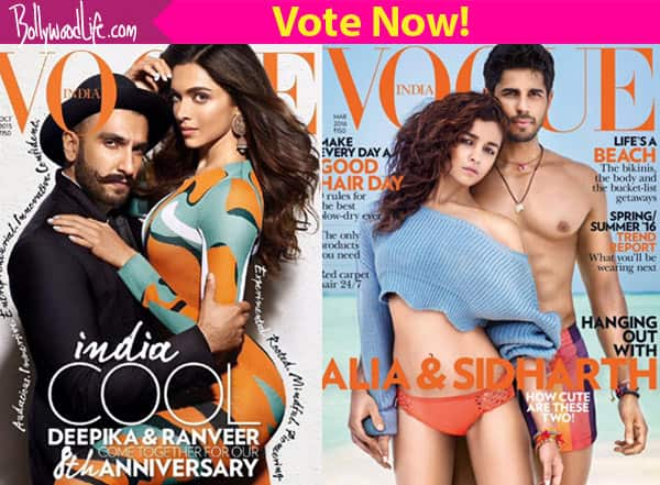 Deepika Padukone and Ranveer Singh or Alia Bhatt and Sidharth Malhotra – who looked hotter on Vogue cover?