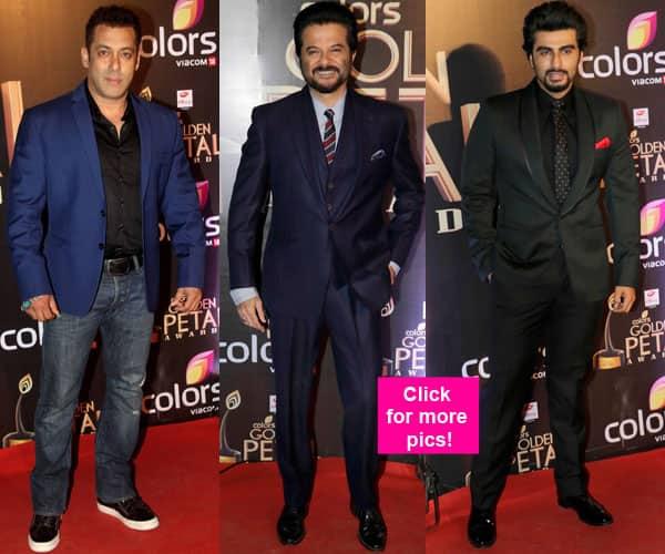 Salman Khan, Arjun Kapoor, Anil Kapoor: B-town men arrived in style at the Golden Petal Awards!
