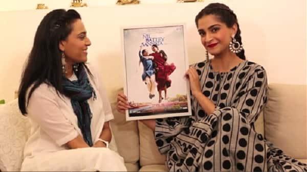 Sonam Kapoor unveils the first poster of Swara Bhaskar's Nil Battey Sannata